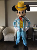 MICKEY MOUSE BLUE MASCOT $60/24 hr rental