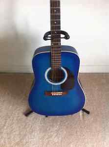 "Art Lutherie Blue ""Wild Cherry"" Guitar Cambridge Kitchener Area image 1"