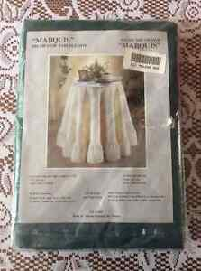 """NAPPES RONDES 72"""" round tablecloths"""
