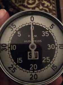 Vintage SW Stewart Warner Model 757 - AF Hand Tachometer