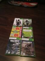 6 Call of Duty games (GREAT CONDITION)