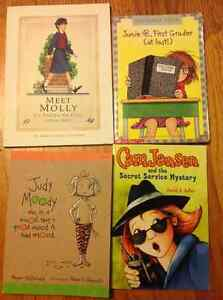 Assorted youth chapter books