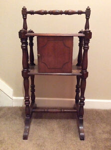 Antique smoking stand/ cabinet