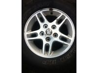 Jeep Grand Cherokee Alloy Wheel + Wrangler Tyre