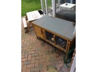 Large rabbit hutch (photo before cleaned)