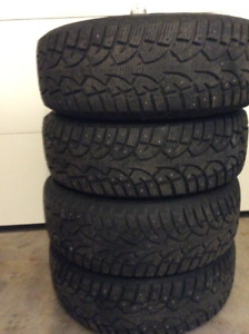 245/65/R17 Winter Tires (4 Tires