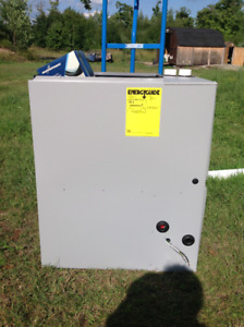 New Gas/LP furnace with kit