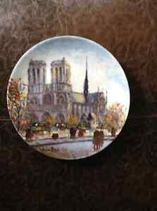 Paris collector plates