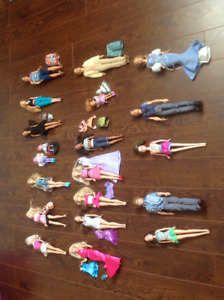 Barbies and clothing