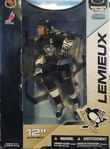 NHL Sportspicks 12 Inch Series Mario Lemieux Pittsburgh Penguins