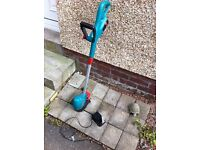 Cordless strimmer,with charger