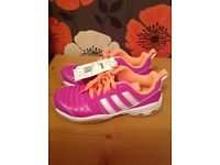 New Adidas trainers , size 4.
