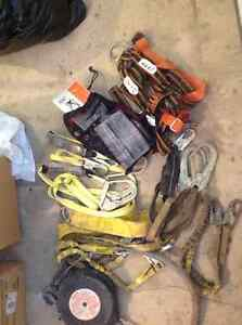 Fall Protection Equipment - Harnesses, Lanyards