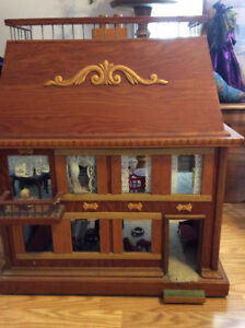 OLDER homemade doll house