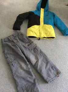 DC boys jacket and pants, youth small, good condition, very warm