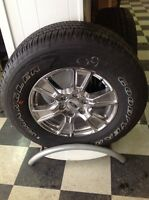 """Ford 18"""" wheels and tires"""