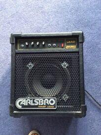 Lead guitar amp