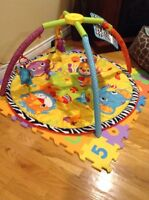 Infantino Activity Gym and Playmat