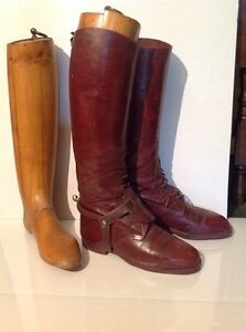 French Calvary Riding Boots