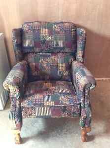 Fabric armchair for sale