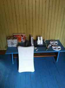 Console wii + jeux 100 $