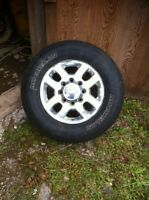 Chev  2500HD Tires and Rims