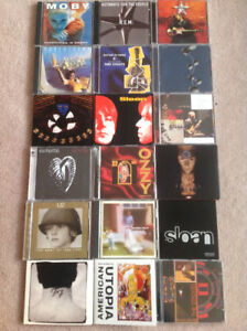 Music CD's - Various Artists - 37 CD's in total
