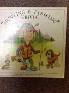 Hunting and Fishing Trivia game