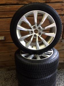 Michelin winter tires / OE Alloy wheels