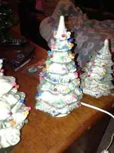 Mini ceramic Christmas tree for sale London Ontario image 2
