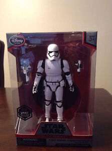 "Star Wars Elite Series Die cast ""FIRST ORDER STORM TROOPER"" 8 in"