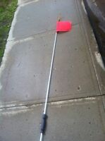 12 feet buggy whip with hitch insert $30