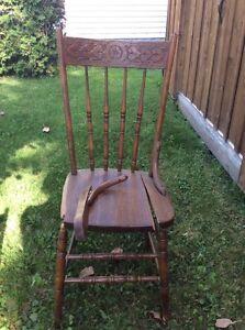 Jolies chaises antiques avec coeurs West Island Greater Montréal image 7