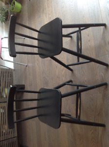 2 Ikea Junior Chairs