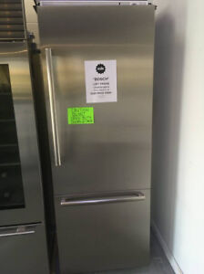 "Fridge counter depth SS 30"" loft $3999"