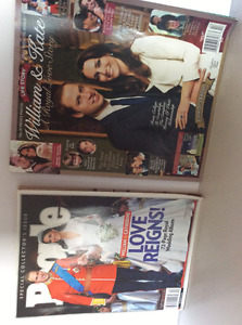 Prince William and Catharine Memorial magazines
