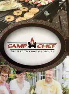 Camp Chef stainless steel portable bbq/tabletop grill