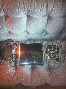 Xbox 360 elite with 2 controllers