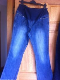 Next size 14 maternity jeans boot cut