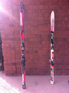 Atomic and Fischer Skiis For Sale Reduced