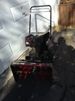Snow blower like new for sale