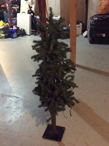 4 foot slim Christmas tree