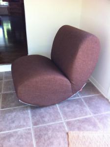 fauteuil berçant James