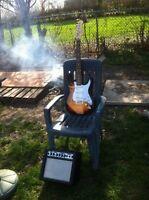Smokin hot summer deal $120 for guitar and amp combo