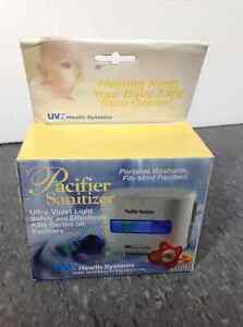 UVZ Health System Pacifier Sanitizer Cleaner Ultra-Violet Light