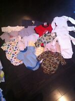 0-3 month Brand name boy bundle, so much clothes!
