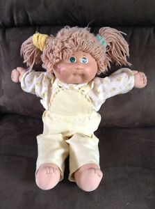 Vintage Cabbage Patch doll from the 80's