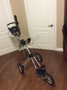 """BAG BOY"" Evolution 180 Golf Club Push Cart - Like New"