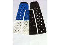 Surfboard Traction Tail Pad, Surfing Deck Grip Surf Pads Blue