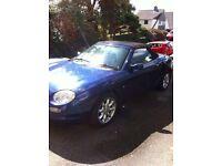 MG 2000 blue 1 year MOT